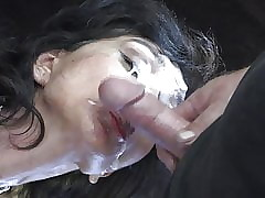 wife sits on my face : ass cumshots, girls eating pussy
